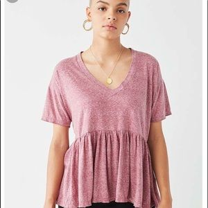 Urban Outfitters Tops - urban outfitters babydoll tee